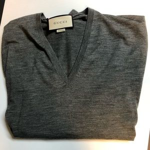 Gucci V Neck Sweater sized XXL Brand new with tags
